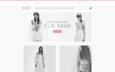 Brides - Wedding Shop OpenCart Template