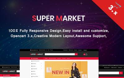 Super Market OpenCart Template