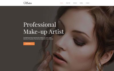 MUKA - Make-up & Salon Muse Template