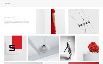 .OKOO - Шаблон Joomla для портфоліо фотографа