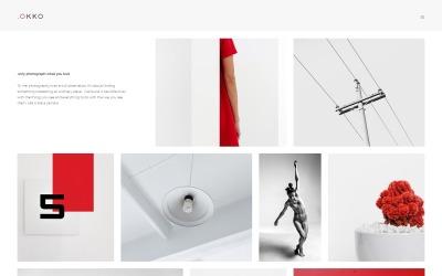 .OKOO - Template Joomla para portfólio de fotógrafo