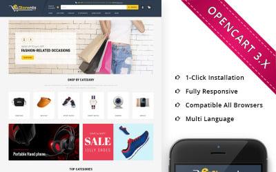 Estorents Mega Store - Responsive OpenCart Template