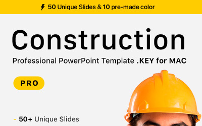 Construction for Professional - Keynote template