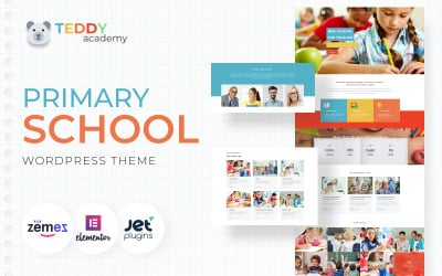 Teddy Academy - İlkokul WordPress Elementor Teması