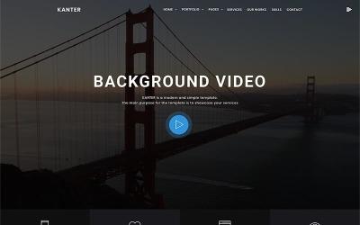 Kanter - Šablona WordPressu pro firmy, portfolio a agentury