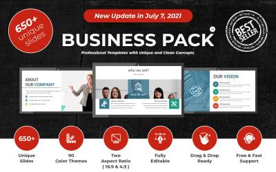 Plantilla de presentación de PowerPoint Business Pack