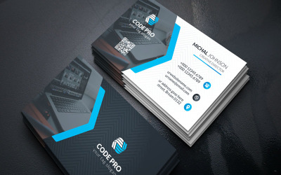 Prime Individual Cosmetic Business Card - Corporate Identity Template