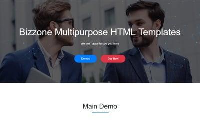 Bizzone - Multipurpose Business HTML5 Landing Tempalte Landing Page Template