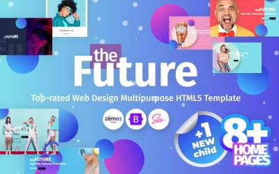 theFuture - Web Design Agency Multipurpose Website Template
