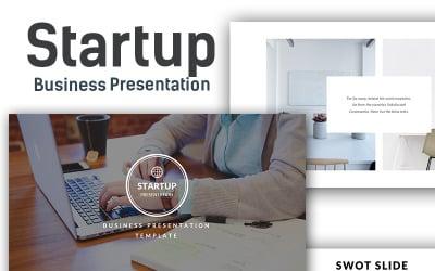 Startup Business - Presentation - Keynote template