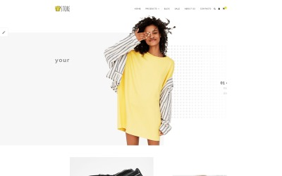 Hipstore - Clothing & Beauty OpenCart Template