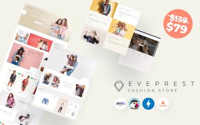 Eveprest Fashion 1.7 - Tema de PrestaShop para tienda de moda