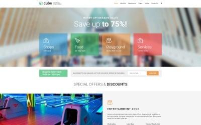 Cube - Shopping Mall Joomla Template