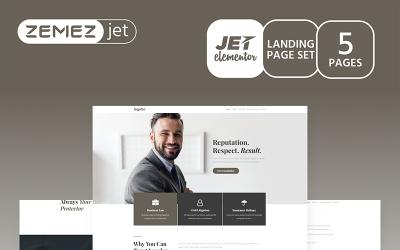 Justicon - Kit Avocat Elementor Jet
