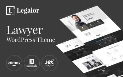 Legalor - Ügyvéd WordPress Elementor téma