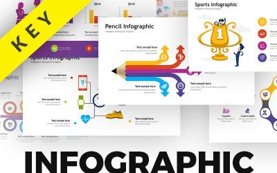 Pack d'infographie d'entreprise - Atout - Modèle Keynote