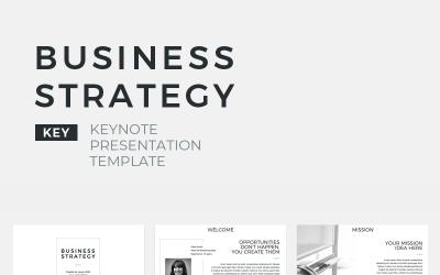 Business Strategy Presentation - Keynote template