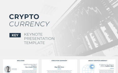 Crypto Currency - Keynote template