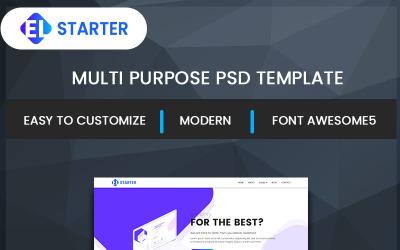 EL-Starter PSD模板