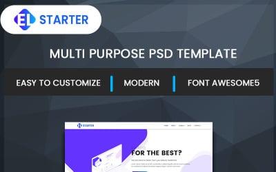 EL-Starter PSD Template