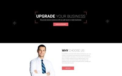 Audit attent - Business Audit HTML5 Landing Page Template