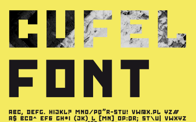 CUFEL Creative Font
