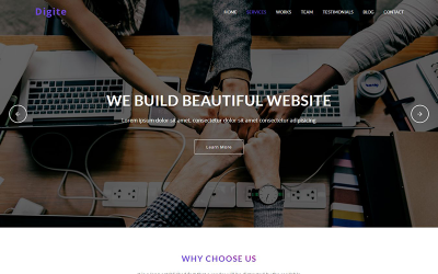 Digite - Digital Agency Landing Page Template