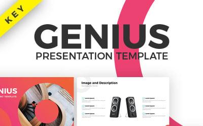 Genius - Keynote template