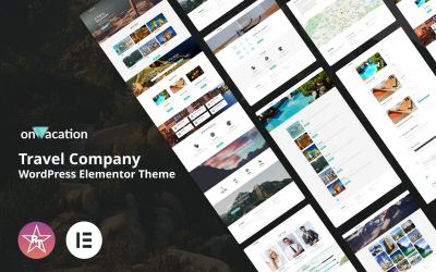 OnVacation - Travel Company WordPress Elementor Theme