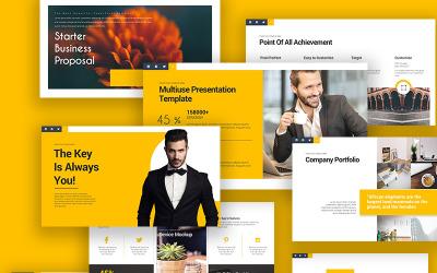 商务谈话PowerPoint模板