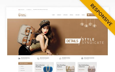 Bag Shop OpenCart Template