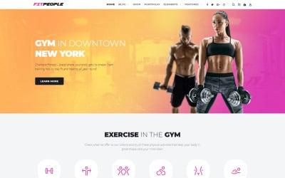 FitPeople - Fitness WordPress Elementor téma
