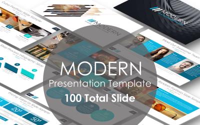 Modern Presentation PowerPoint Template