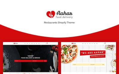Aahar - Restaurants eCommerce Shopify-thema