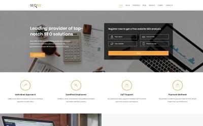 SEO Biz Modern HTML Landing Page Template