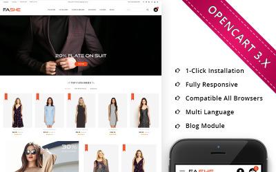 Fashe - The Mega Store Responsive OpenCart Template