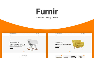 Furnir - Tema de Shopify para muebles