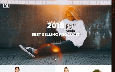IMI - Apparel Store OpenCart Template
