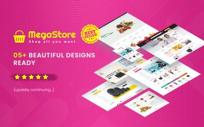 MegaStore - Многоцелевая тема OpenCart 3