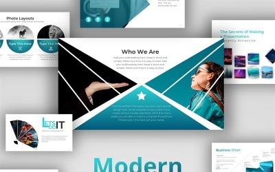Moderní design PowerPoint šablony