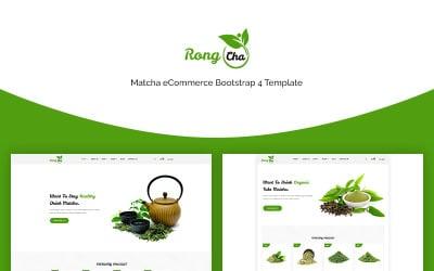 Rongcha - Matcha Bootstrap4 Website Template