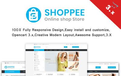 Shoppee Multistore OpenCart Template