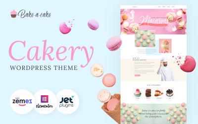 Assar um bolo - Tema Cakery WordPress Elementor