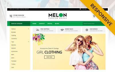 Melon - Fashion Store OpenCart Template