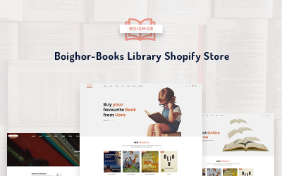 Boighor - Books Library Shopify Theme