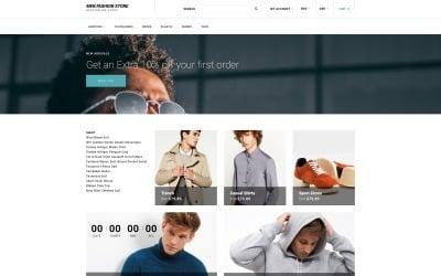 Men Fashion Store - Solid Men Clothes Online Store OpenCart Template