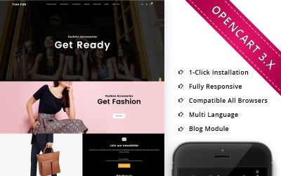 Treefab - Fashion Store Responsive OpenCart Template