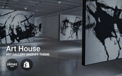 Kunsthaus - Kunstgalerie Shopify Theme