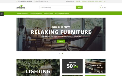 Marigard - Efficient Garden Furniture Online Shop OpenCart Template