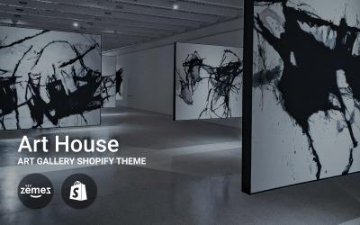 Art House - Galeria sztuki Motyw Shopify
